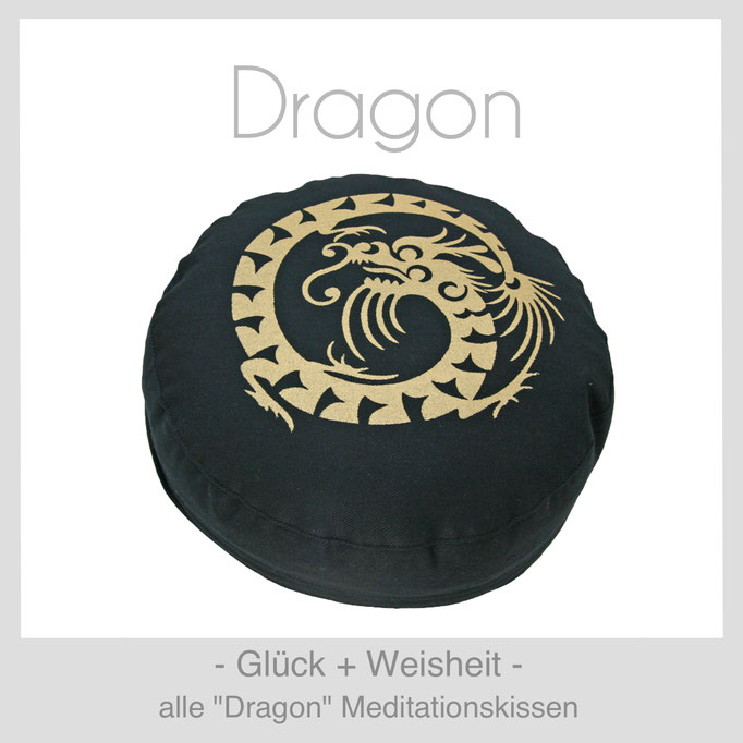 "Designer Meditationskissen ""Dragon"""