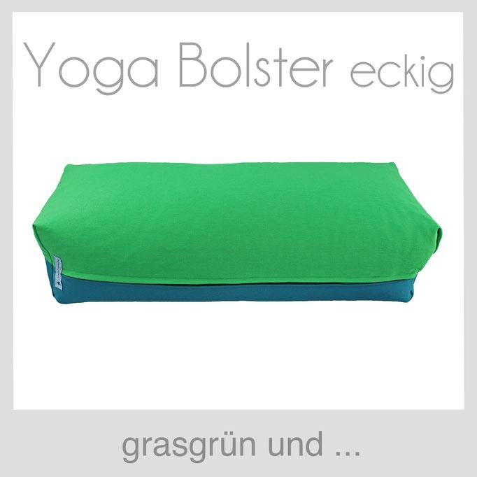 Yoga Bolster eckig Köln grasgrün
