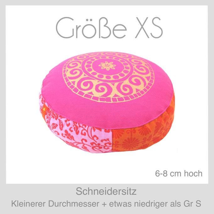 Designer Meditationskissen Yogakissen Gr.XS Schneidersitz