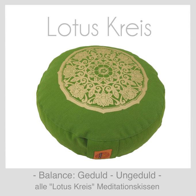 """Designer Meditationskissen """"Lotus Kreis"""""""