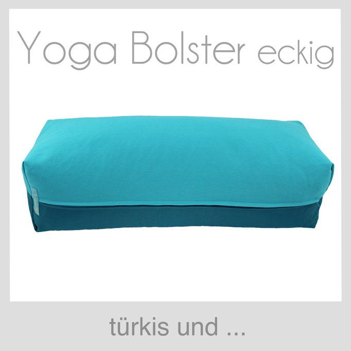 Yoga Bolster türkis