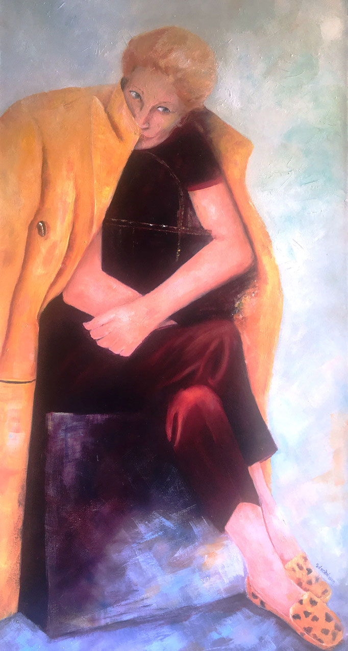 Im Versteck  |  Öl auf Leinwand  |  70 x 120 cm  |  2019