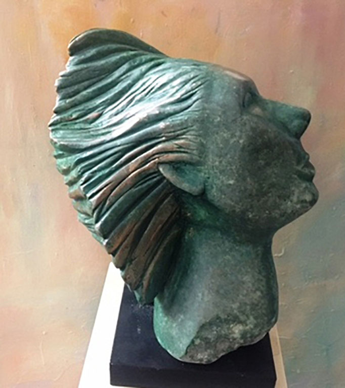 Im Wind | Serpentin Stein | 2017