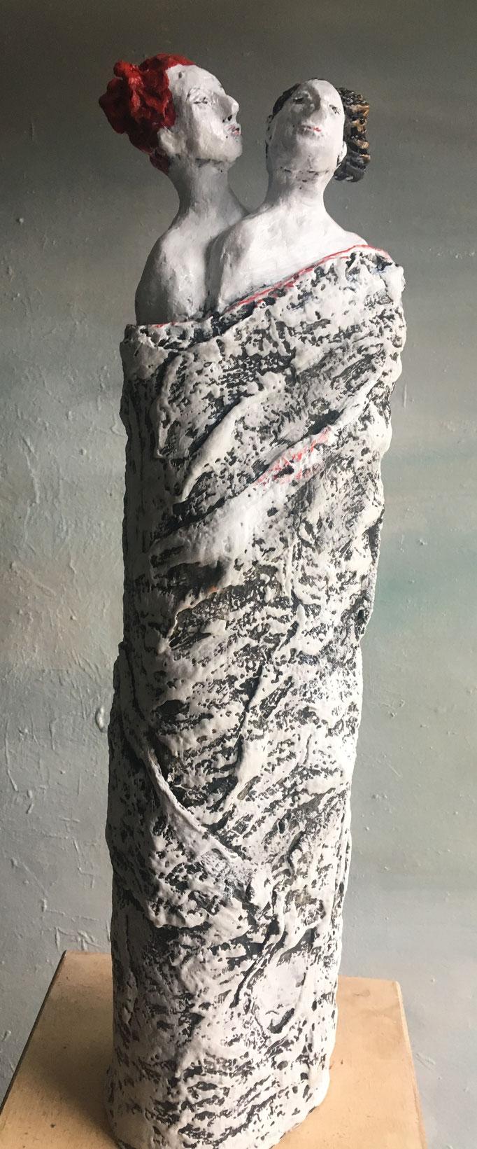 Zu zweit | Keramik | 2018