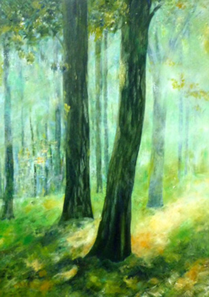 Sommer   Öl auf Leinwand   80 x 100 cm   2011