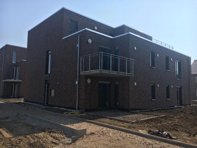 Mehrfamilienwohnhaus in Dülmen - Energieeinsparnachweis u. Blower-Door-Messung