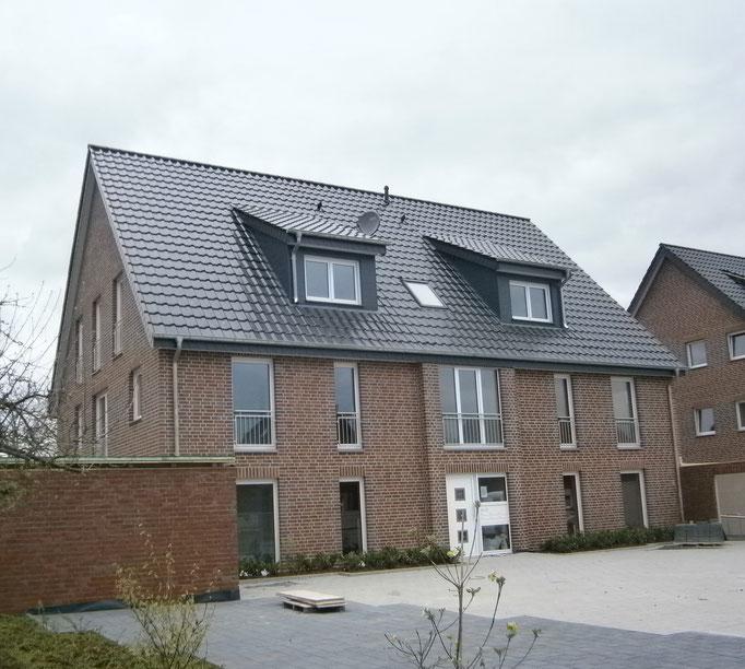 Mehrfamilienwohnhaus in Münster - Energieeinsparnachweis u. Blower-Door-Messung