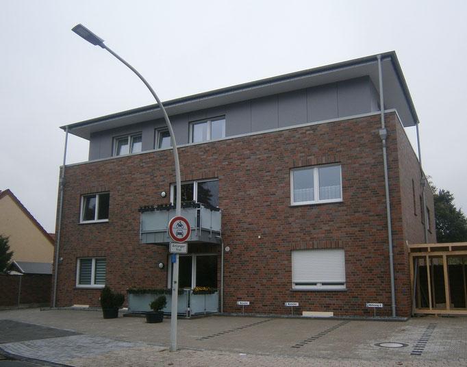 Mehrfamilienwohnhaus in Emsdetten - Energieeinsparnachweis u. Blower-Door-Messung