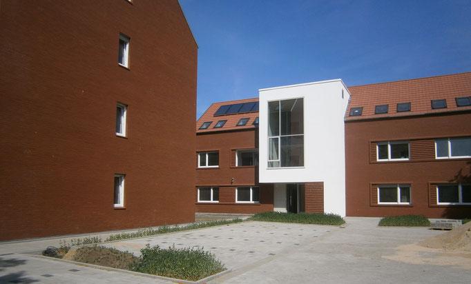 Mehrfamilienwohnhaus in Emsdetten - Blower-Door-Messung