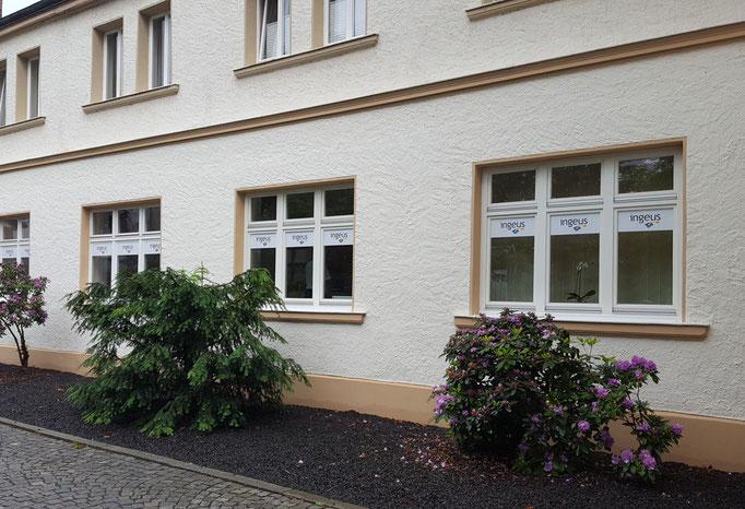 Beschilderung von Bürofenstern in Bamberg