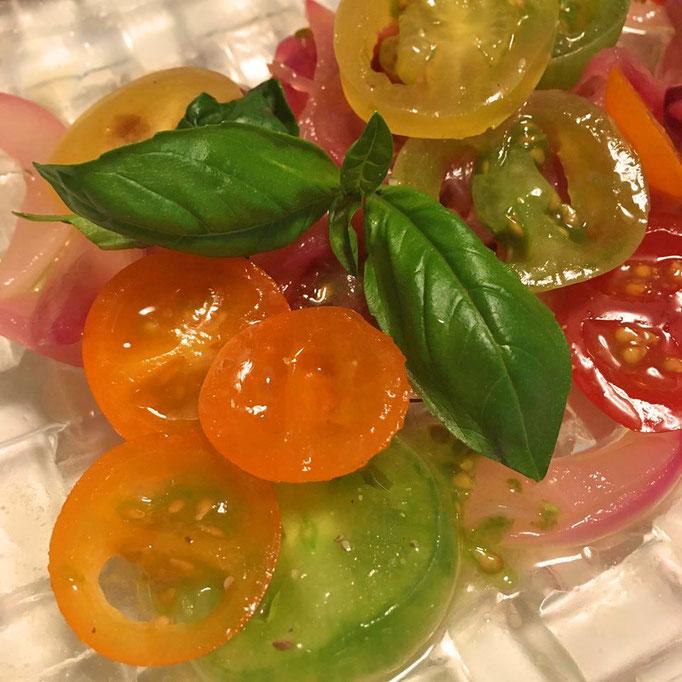 トマトのイタリアマリネ