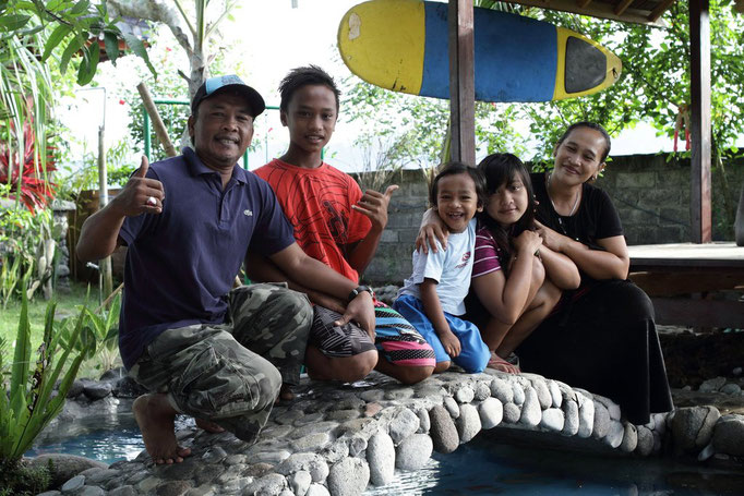 Familie! Bali Bungalow Medewi