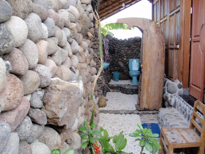 Bathroom bungalow bali