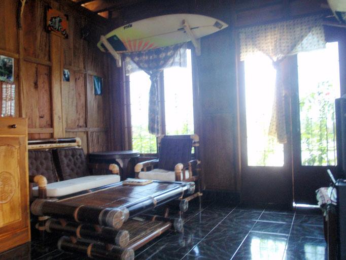 Wohnzimmer Bali Bungalow