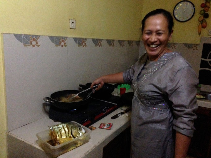 Mama Wati the Chef!