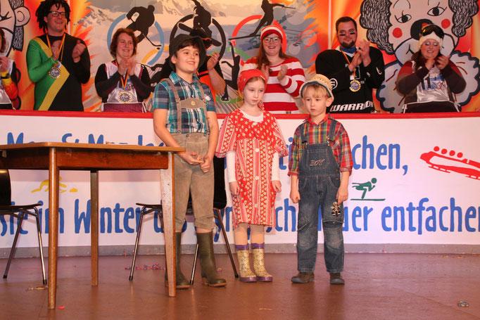 Vorstellung Sketschgruppe Maximilian Schön, Mia Fischer & Felix Fischer