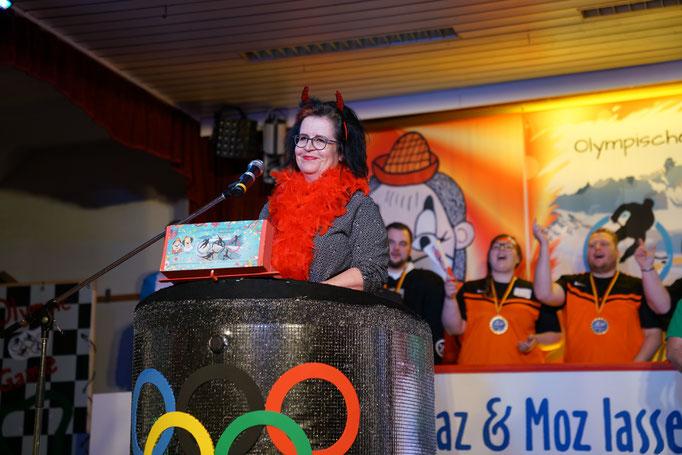 Ehrengast Katja Hartung-Jesensky - Stellvertretende Ortsvorsteherin Mackenzell