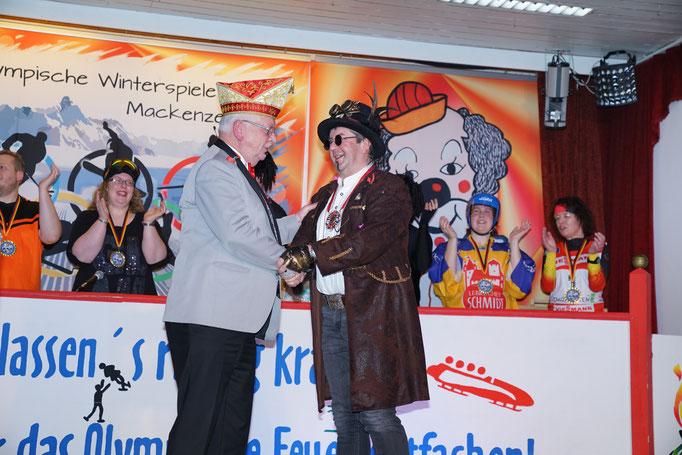 Verleihung des Karlsorden an Thomas Rotter