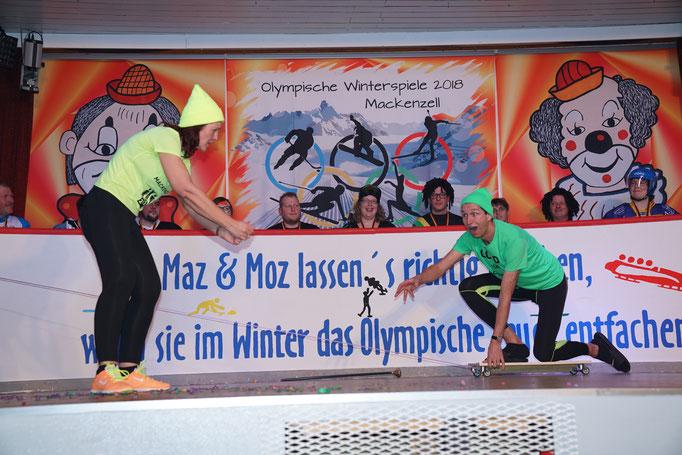 Ansager-Duo: Heike & Matthias Hohmann
