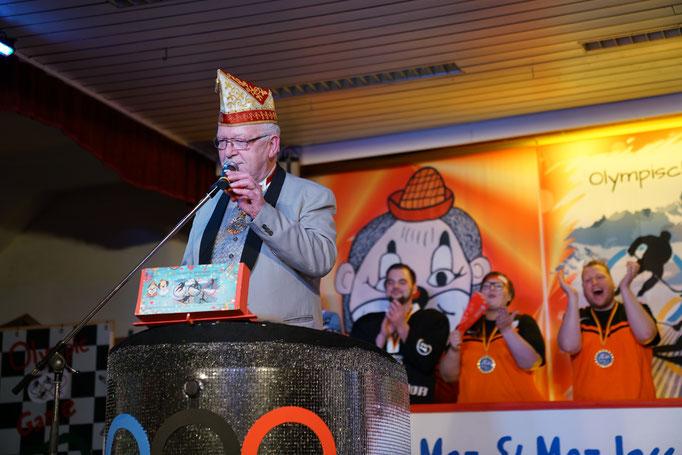 Ehrengast Winfried Kollmann - Karneval-Verband Kurhessen e.V.