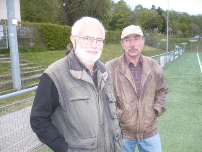 Die Oldies waren auch vor Ort:  Gerhard Kettler,  Werner Weinreich
