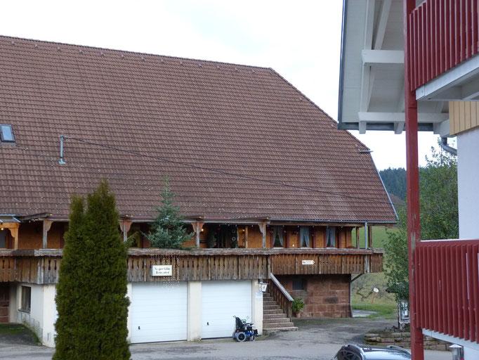 Pause auf dem Schwarzwaldhof