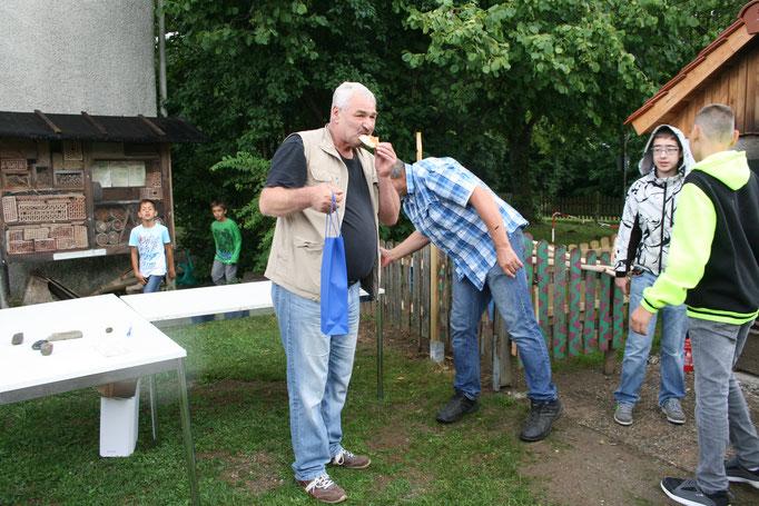 Holzbackofen