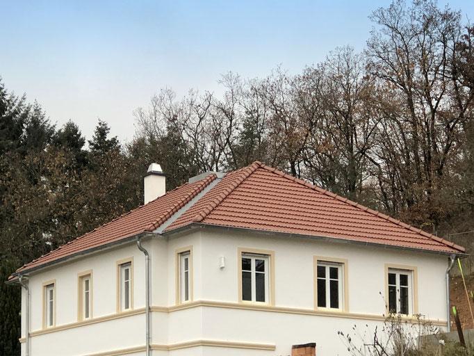 Eindeckung mit Dachziegel Tradi 12