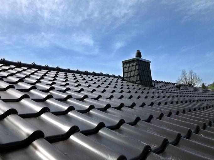 Eindeckung mit Dachziegel Alegra 9