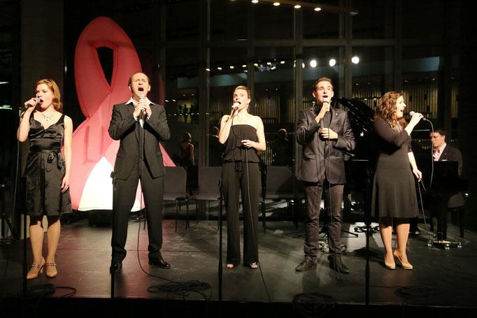 mit Lisa Antoni, Reinwald Kranner, Kristin Hölck und Oliver Liebl