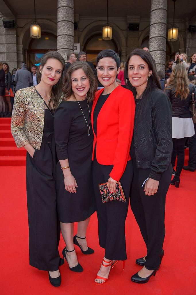 gemeinsam mit Ursula Anna Baumgartner, Ina Regen und Nicole Six @Amadeus/Andreas Tischler