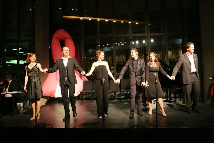 mit Lisa Antoni, Reinwald Kranner, Kristin Hölck, Oliver Liebl und Daniel Spaw