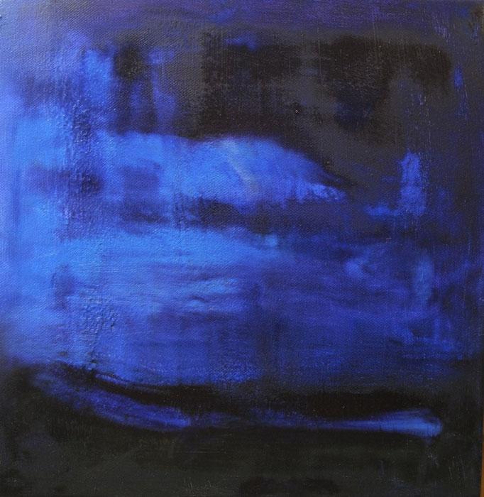 Nuages bleus