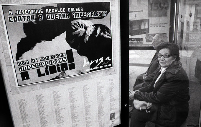Rebeldia contra el imperialismo. Santiago de Compostela