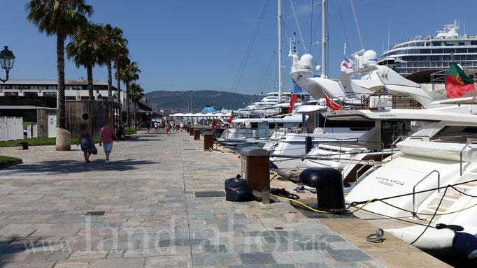 Ajaccio Liegeplatz und Yachthafen