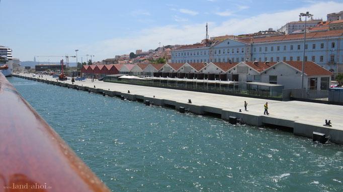 Lissabon Liegeplatz