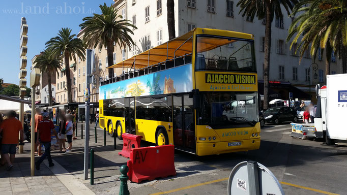 Ajaccio Sightseeing Bus