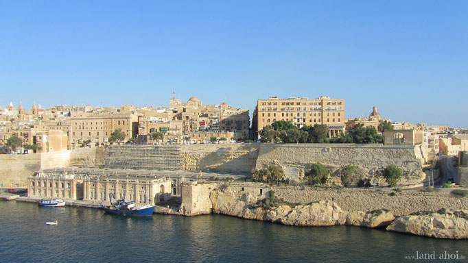 Valletta (Malta) Hafen