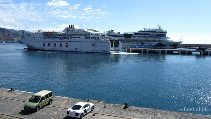 Santa Cruz de Tenerife Kreuzfahrt Hafen