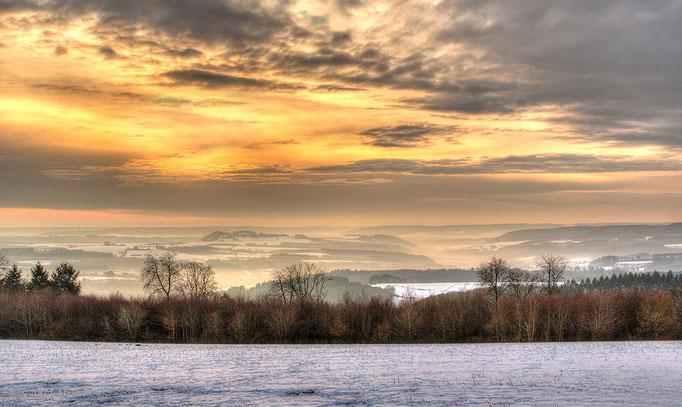 Landschap bij Vianden (Luxemburg) - Landscape near Vianden (Luxemburg).