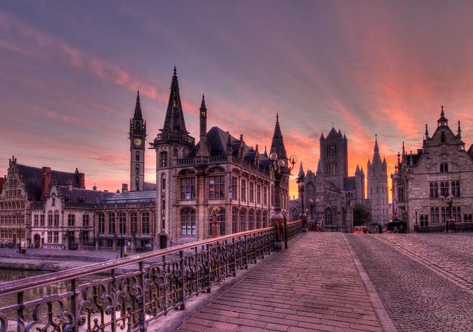 De mooie stad Gent - The beautiful city of Ghent (Gent - Belgium).