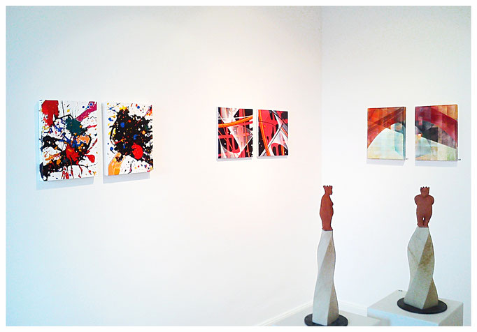Sarah Esslinger-Dahlmann, Ausstellung in der BBK-Galerie (Oldenburg)