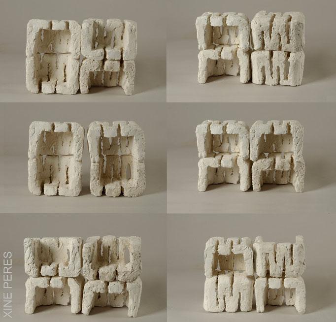 Alphabet- plâtre