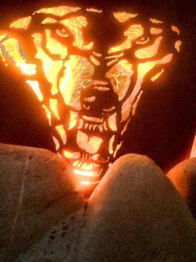 Tipi-Feuerkorb