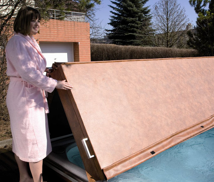 Swimspa Lifter für Isolierabdeckung