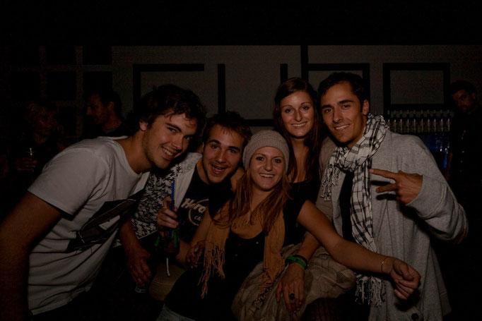 Fans mit Fotograph Riccardo Götz