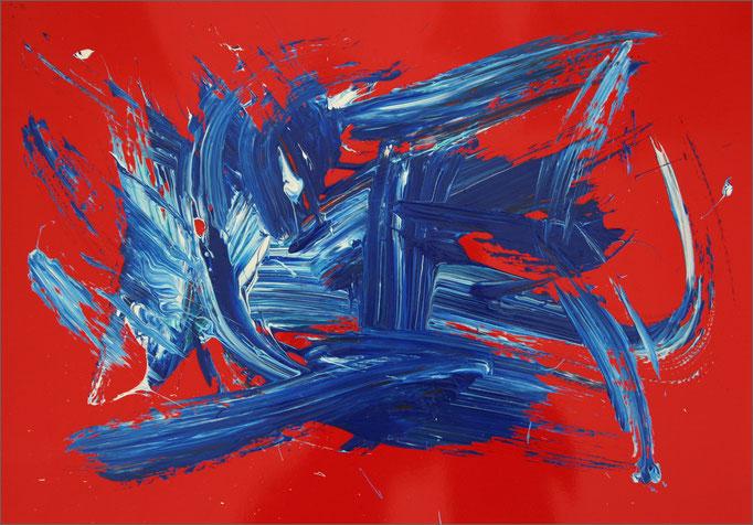 Barito | Acryl auf Leinwand | 48 x 68 cm