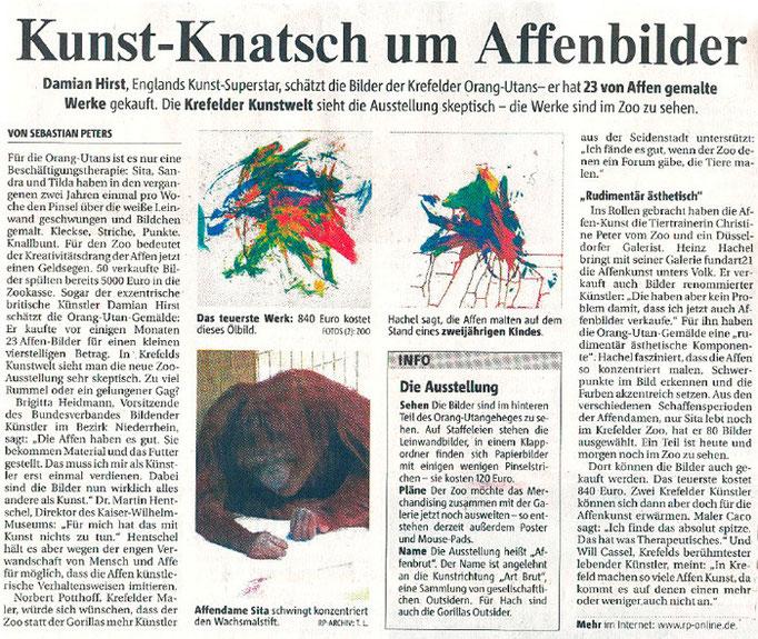 Rheinische Post, 11.10.2008