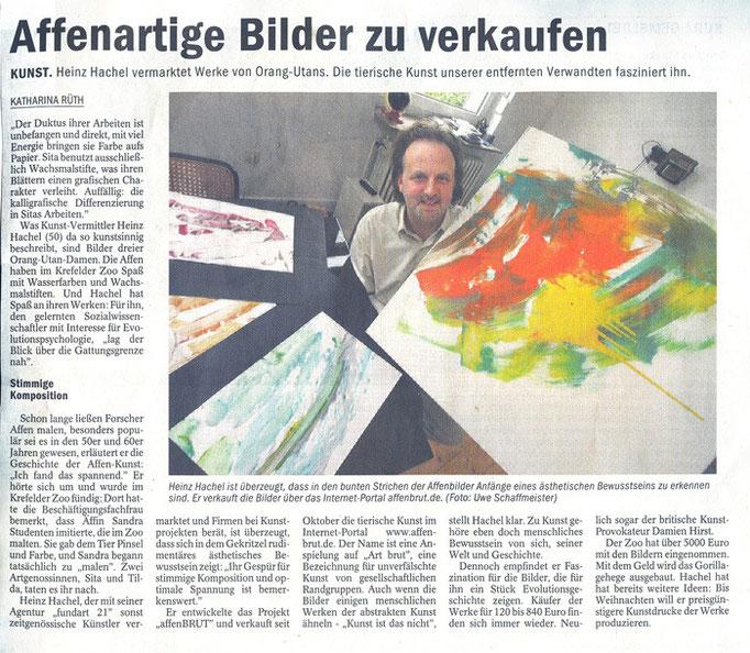 NRZ Düsseldorf, 11.10.2008