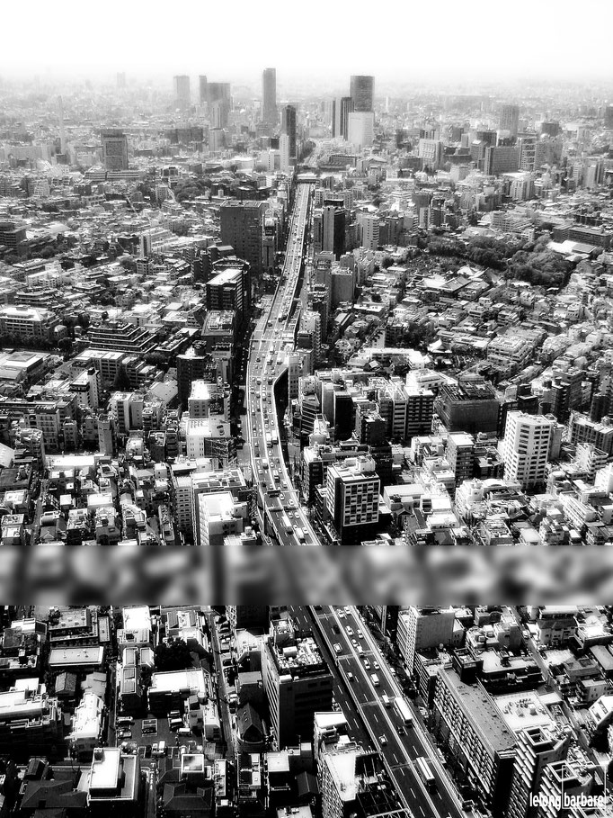 le long barbare photographie - llbpicscopyright - traffic - roppongi hills district - tokyo - 20140425